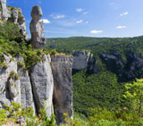 grands causses lozere languedoc roussillon